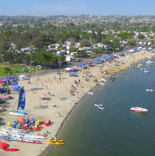 Campland On The Bay Rv Parks And Campgrounds California Camping Camping Locations