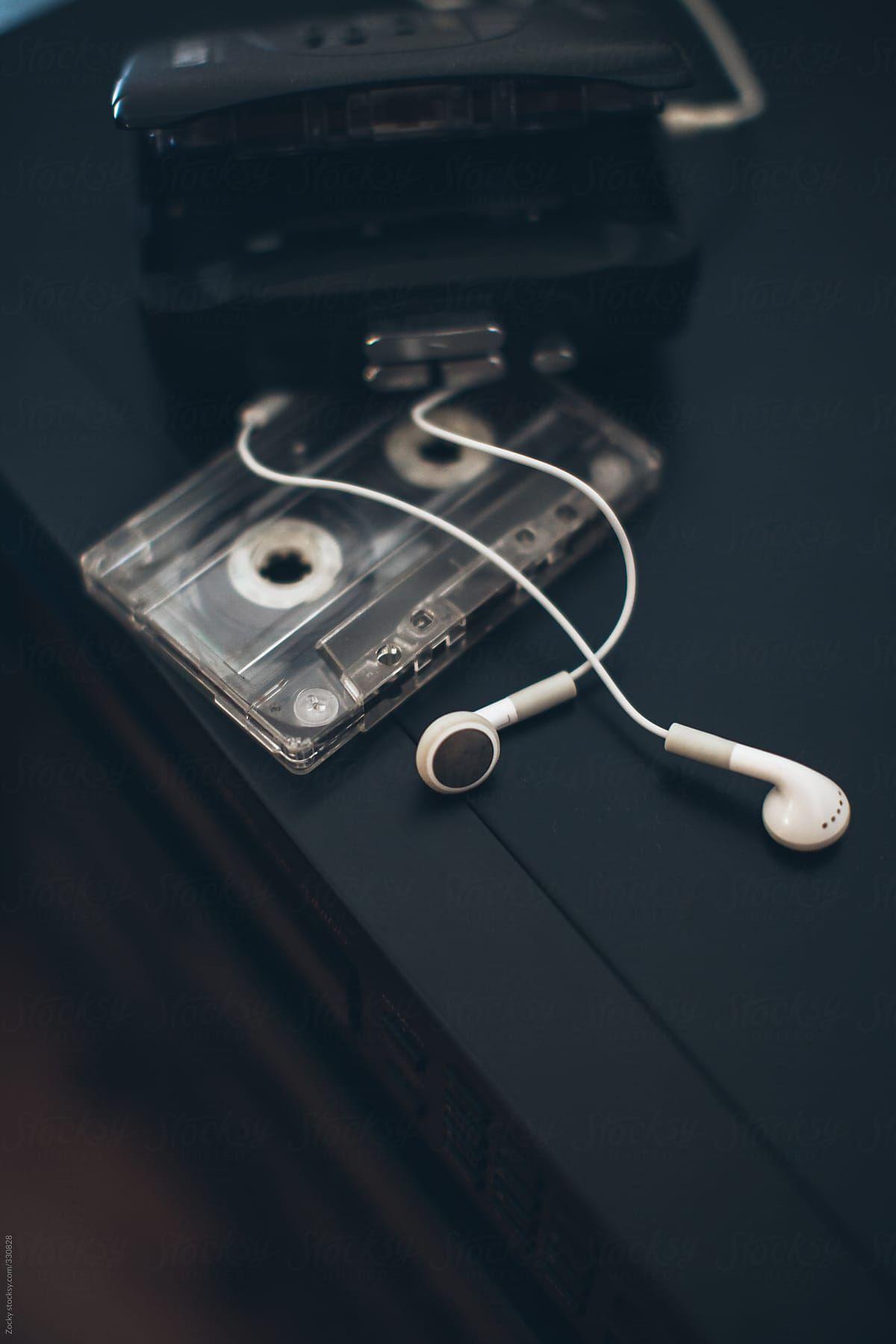 Walkman And Cassettes By Zoran Djekic Stocksy United Iphone Wallpaper Music Music Wallpaper Dark Wallpaper