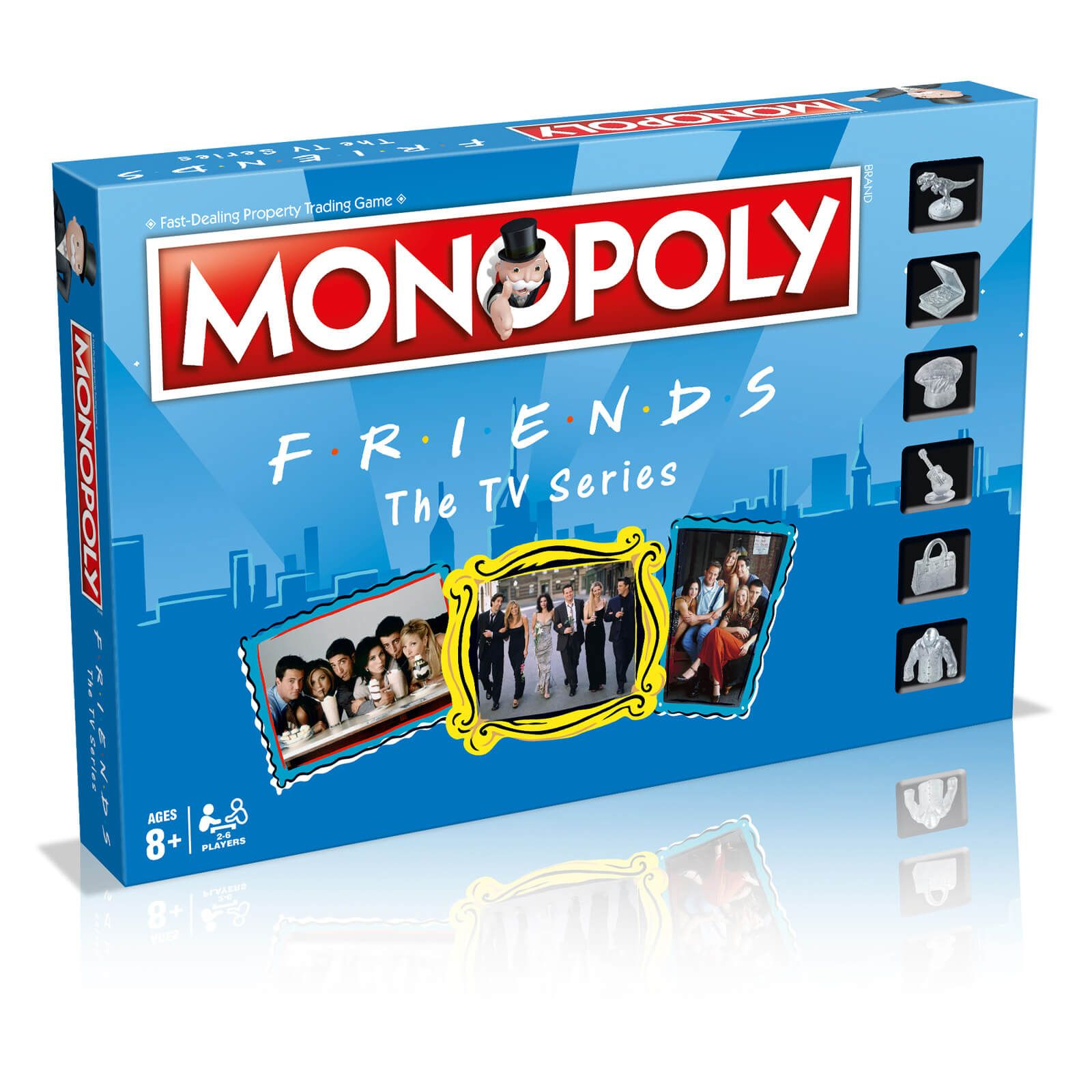 Monopoly Board Game Friends Edition In 2020 Friends Tv Show Gifts Friends Merchandise Friends Tv Series