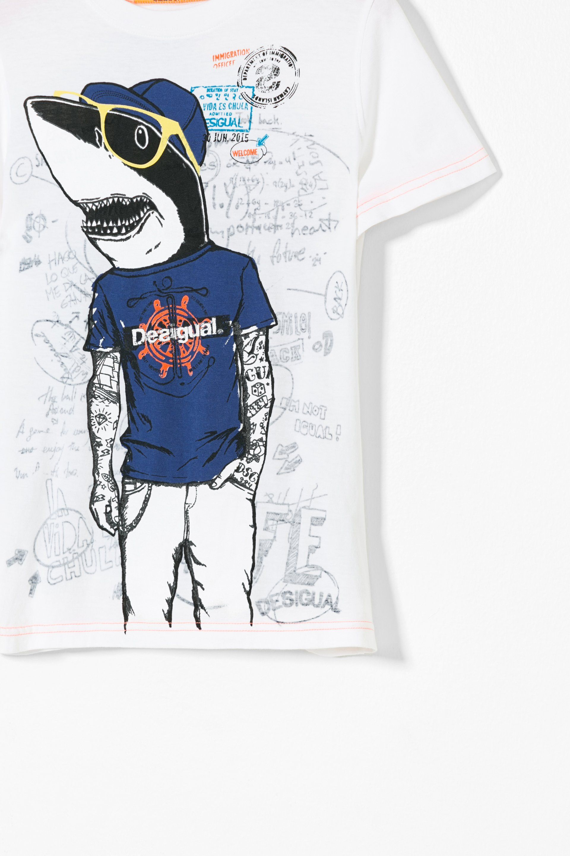 Estampada Desigual¡descubre Algodón De Niño La Camiseta Para b6yvYf7g