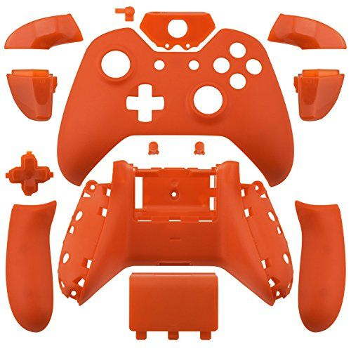 Matte Orange Xbox One Controller Shell Kit See This Great Product Note It Is Affiliate Link To Amazon Xbox Games Xbox One Controller Xbox