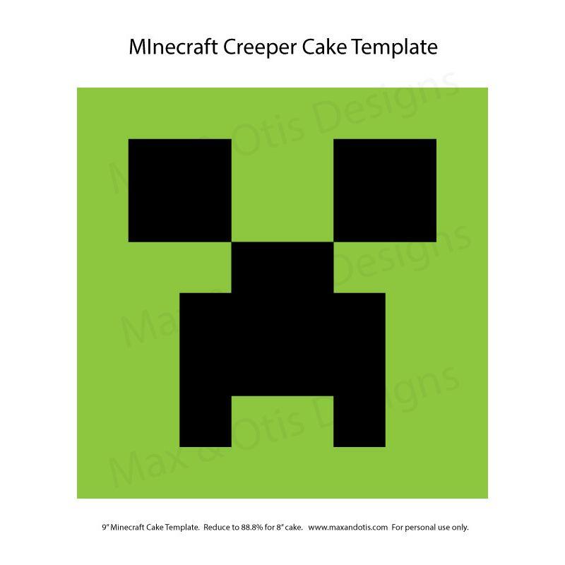 Minecraft Creeper Cake Template Minecraft Creeper Cake Template Minecraft Birthday Cake Minecraft Creeper Cake Template Geburtstag Zitate Geburtstag Geburt