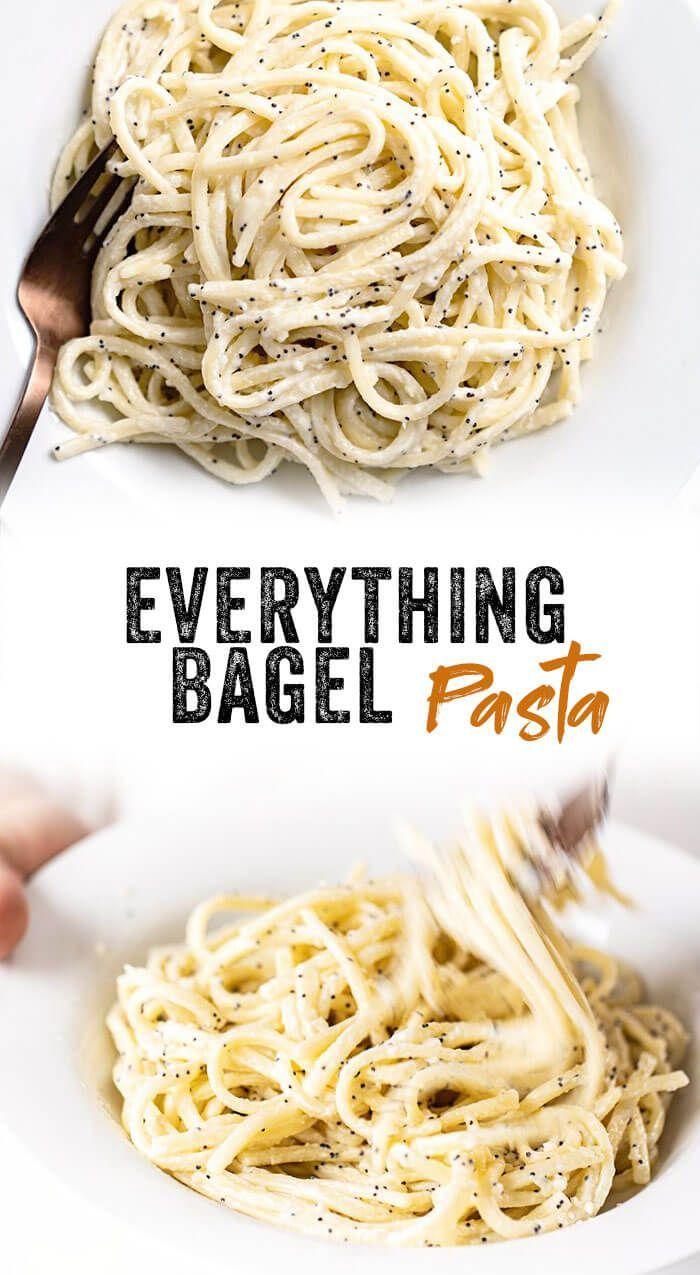 Everything Bagel Pasta images
