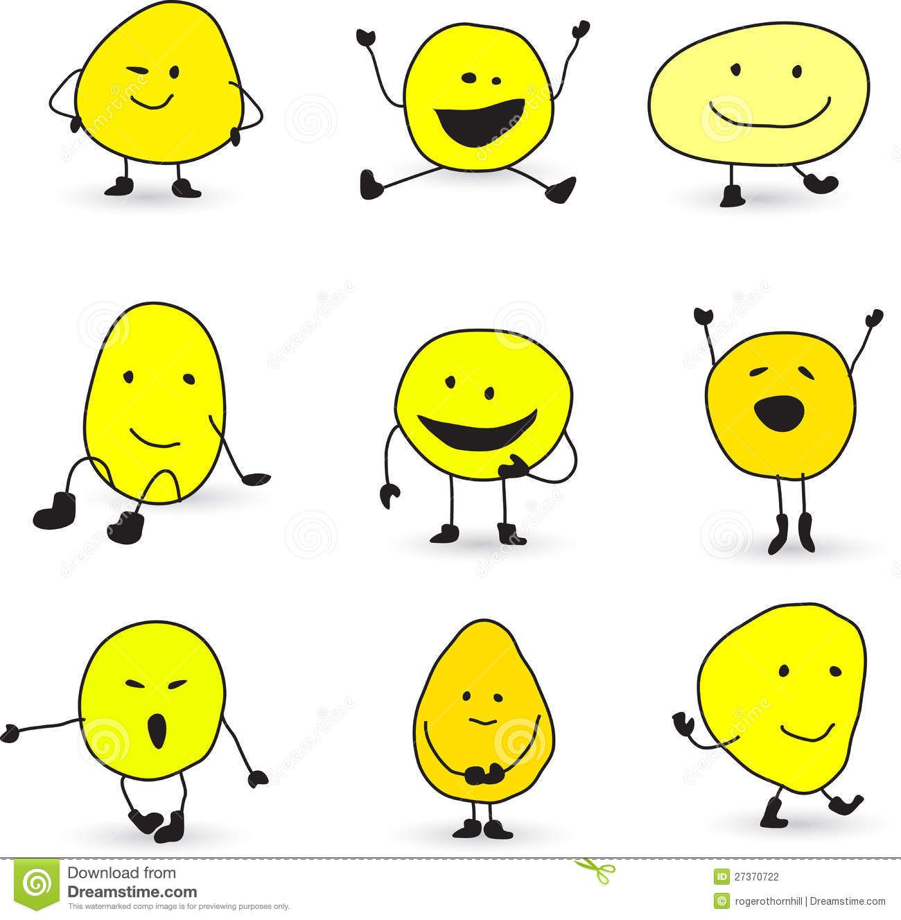 Cute Smiley Face Characters Download From Over 36 Million High