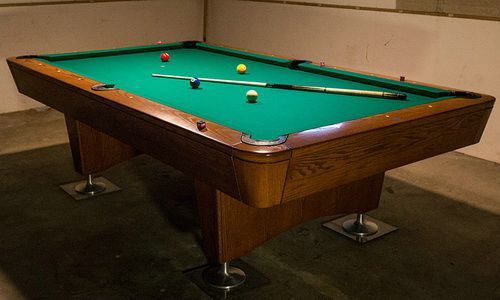 professional pool diamond table