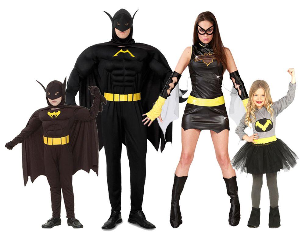 Grupo de familia batman disfraces carnaval - Difraces para carnaval ...