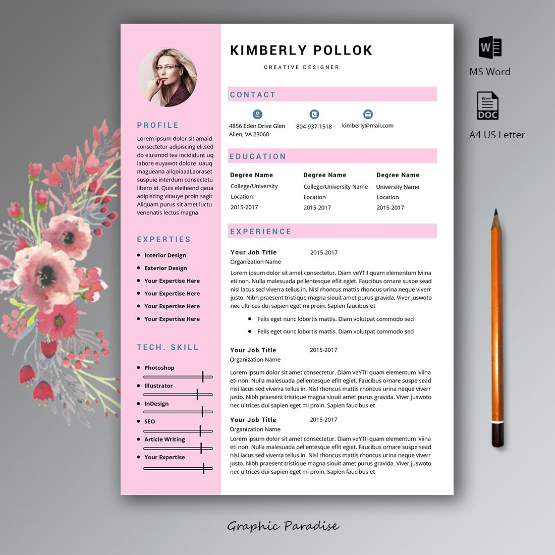 Professional Resume Templates For Who Seeking Best Professional