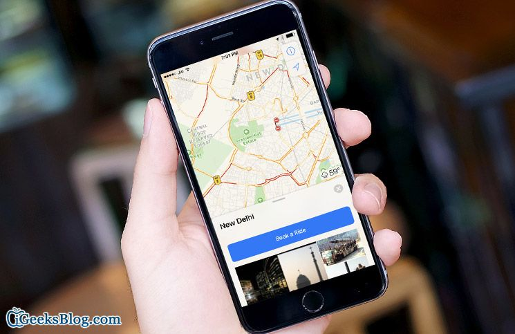 How to Check Weather Forecast of any Place in Maps App on