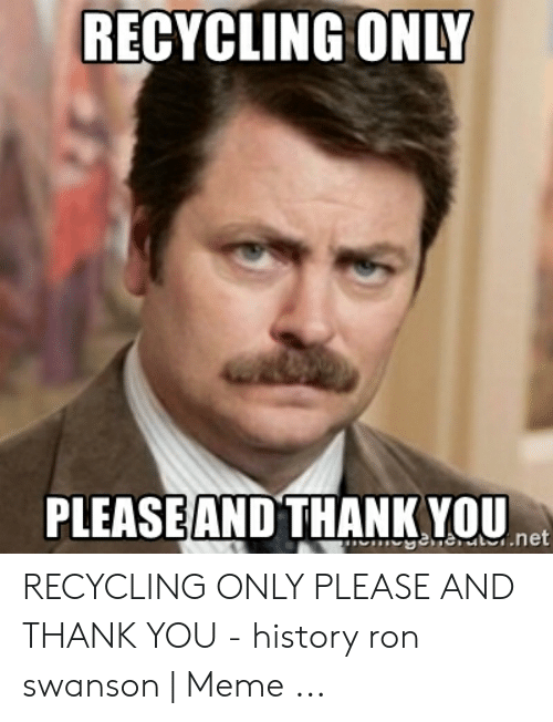 RECYCLING ONLY PLEASEAND THANK YOU hESeTenet RECYCLING ...