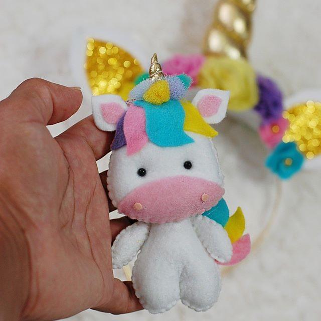 Armario Kit Verona ~ #unicórnio #unicornio #chaveiro #feltro #feitoamao #
