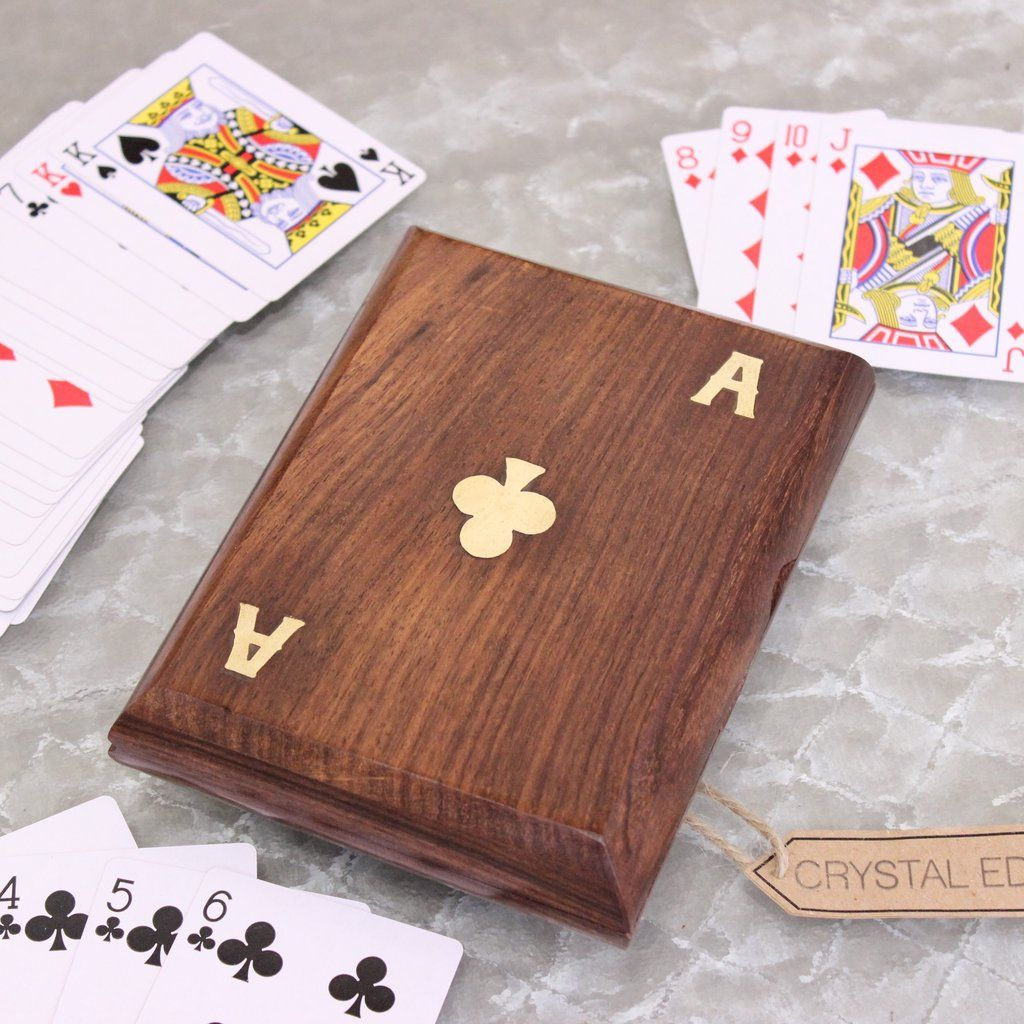 luxury playing card holders make a great gift handmade