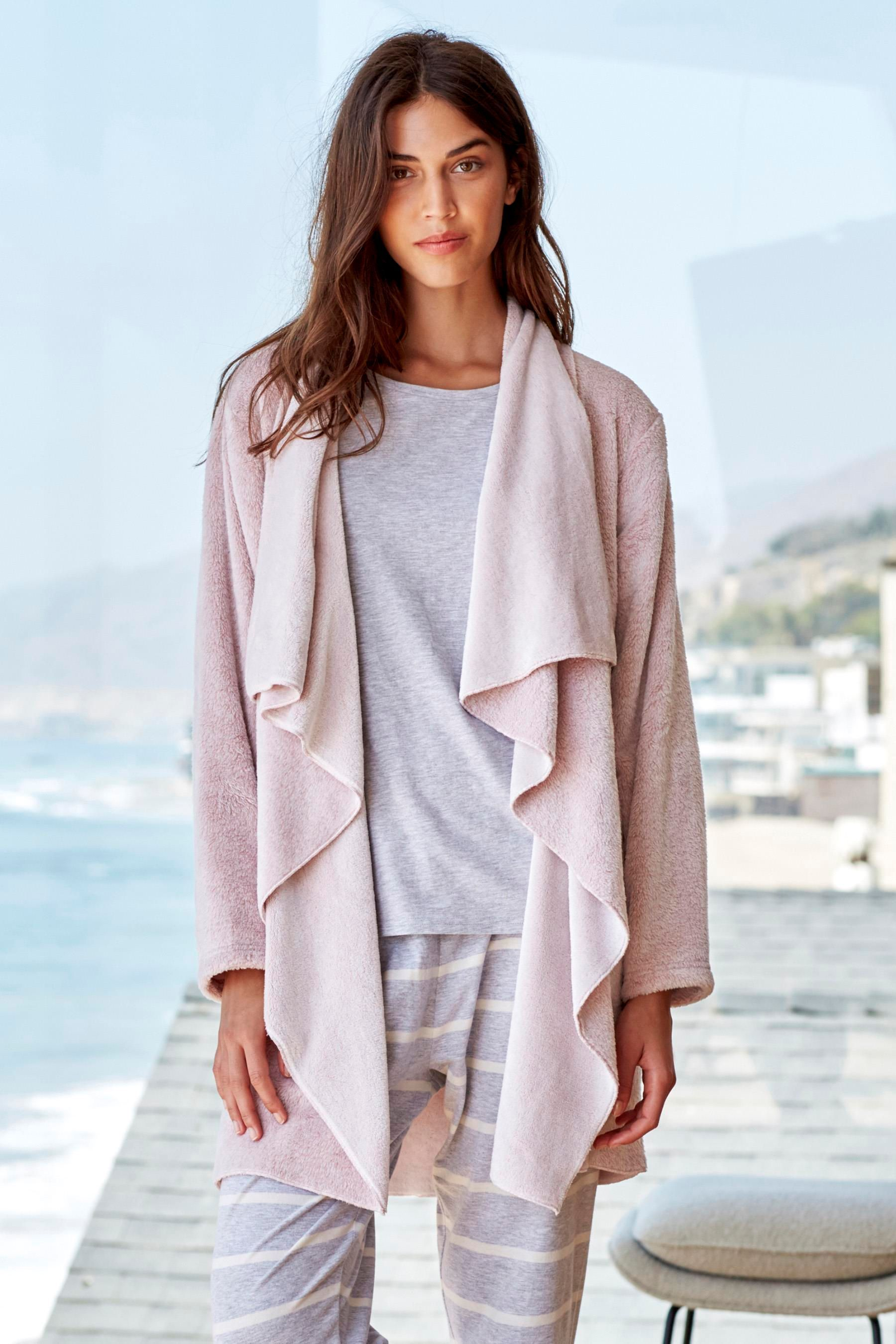 Buy Pink Waterfall Cardigan from the Next UK online shop | My ...