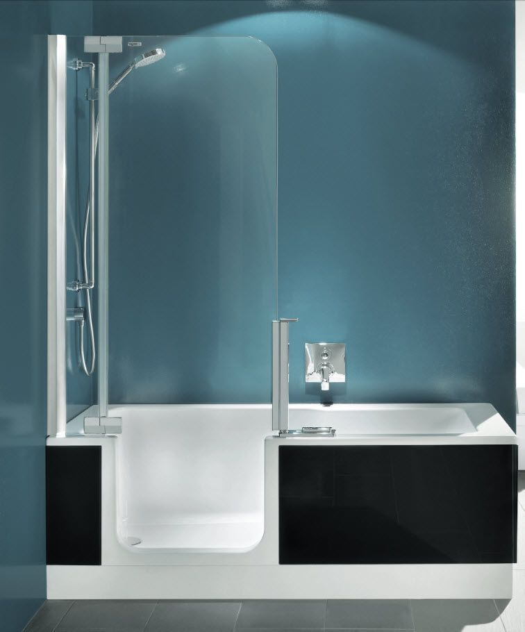 fiberglass tub shower combo lowes walk bathtub with glass door standard size