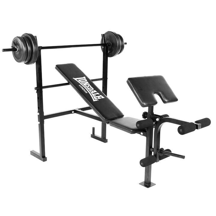 Lonsdale | Lonsdale Weight Bench With Weights | Weight Benches