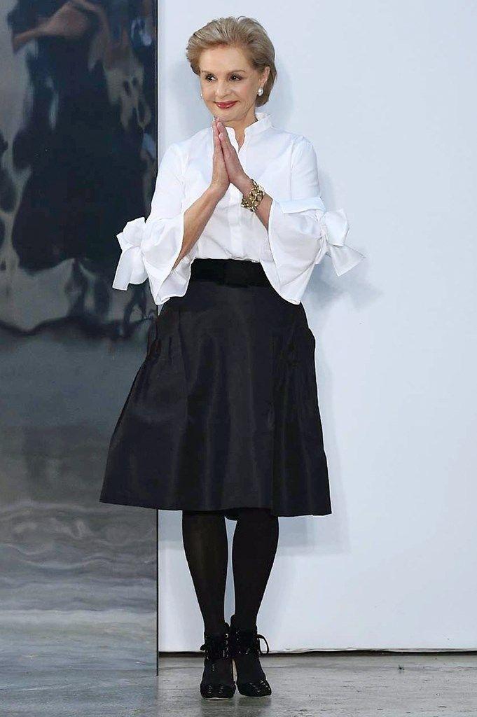 Carolina Herrera pinta de rosa la NYFW