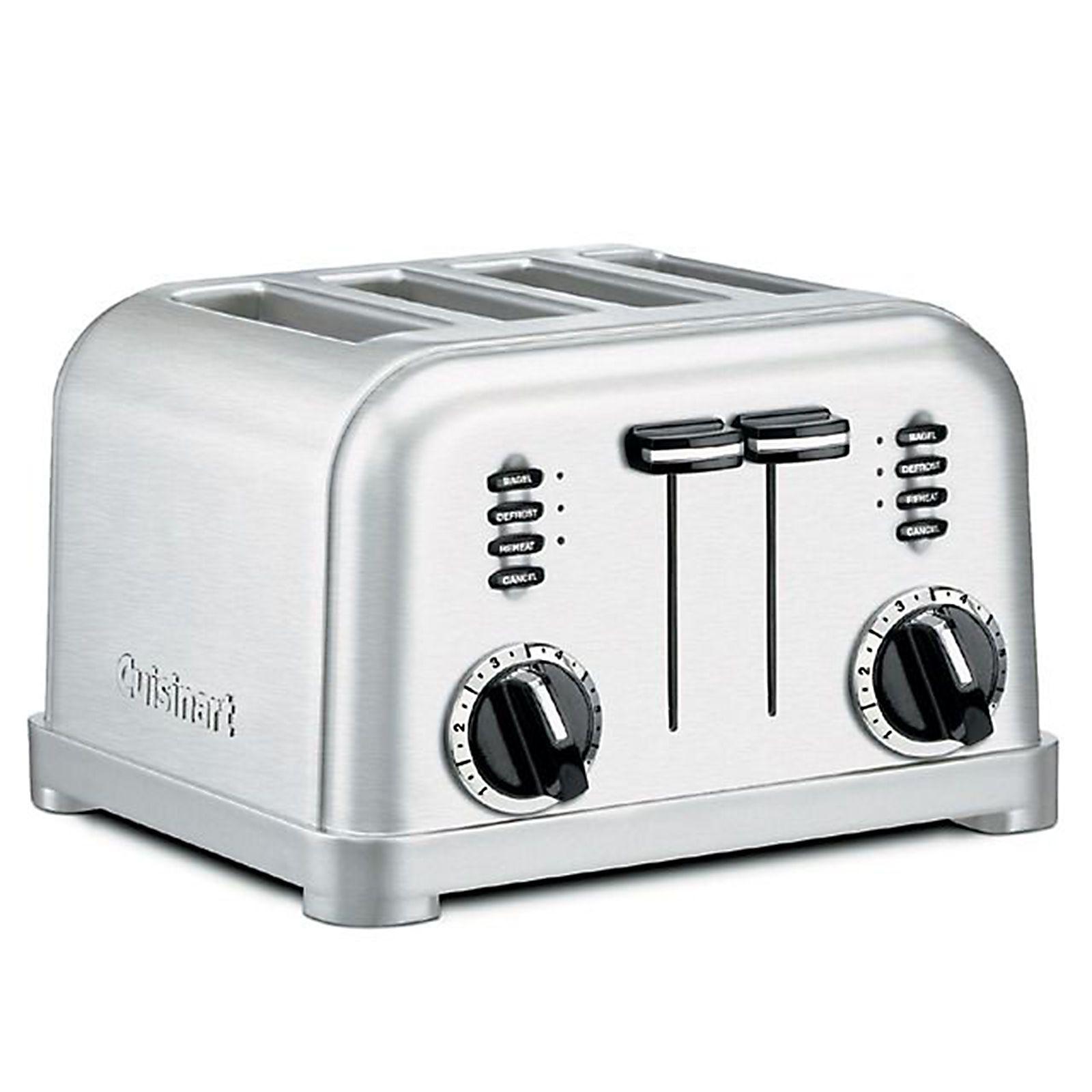 Cuisinart 4-Slice Toaster - Stainless Steel (Silver)
