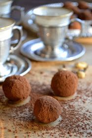 The view from Great Island: Coffee and Cardamom Truffles
