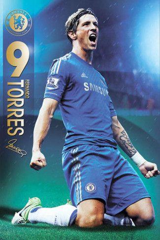 Fernando Torres - Chelsea FC Poster