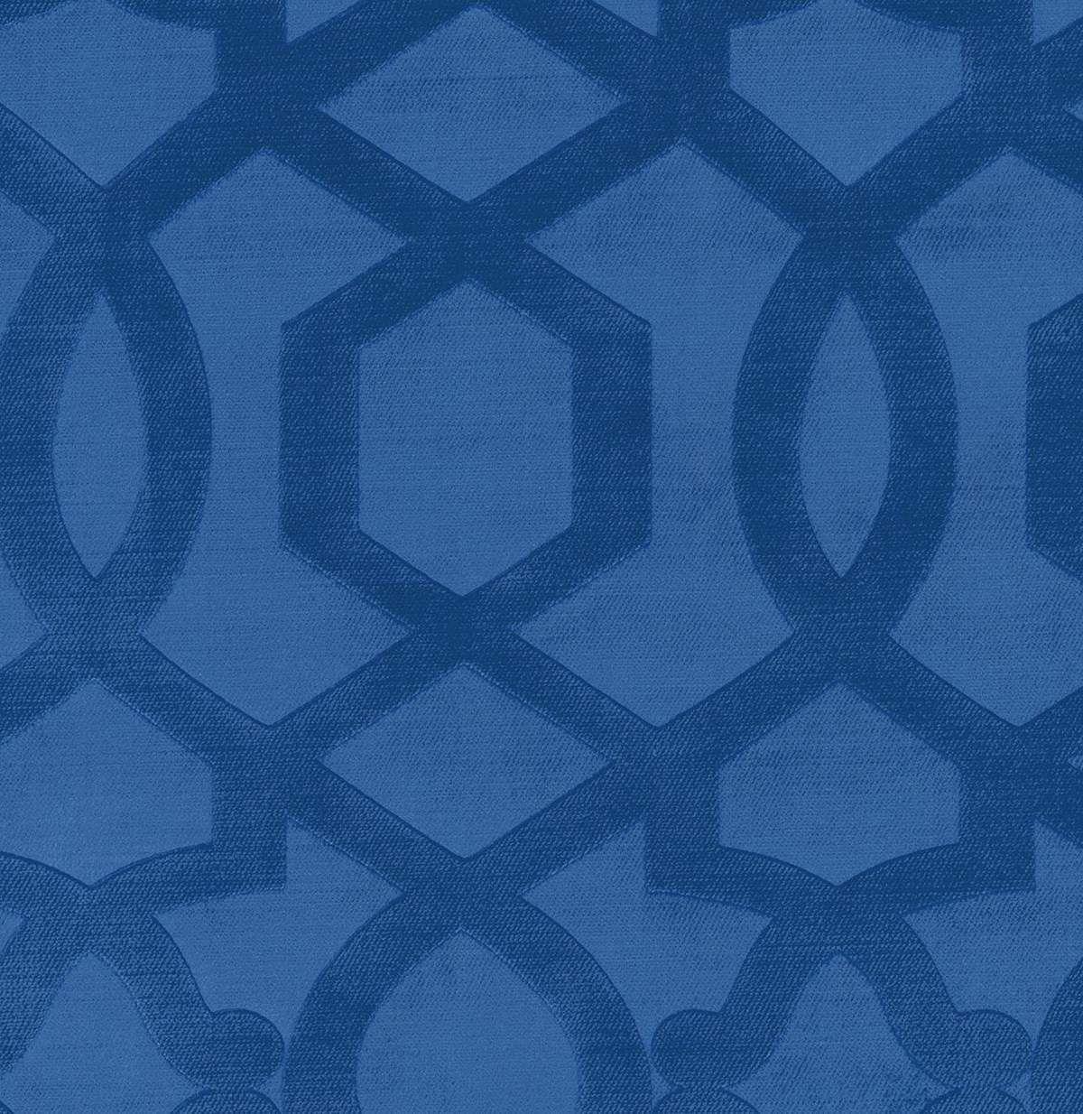 Upholstery Fabric- IMAN Sultana Velvet Lapis | JOANN