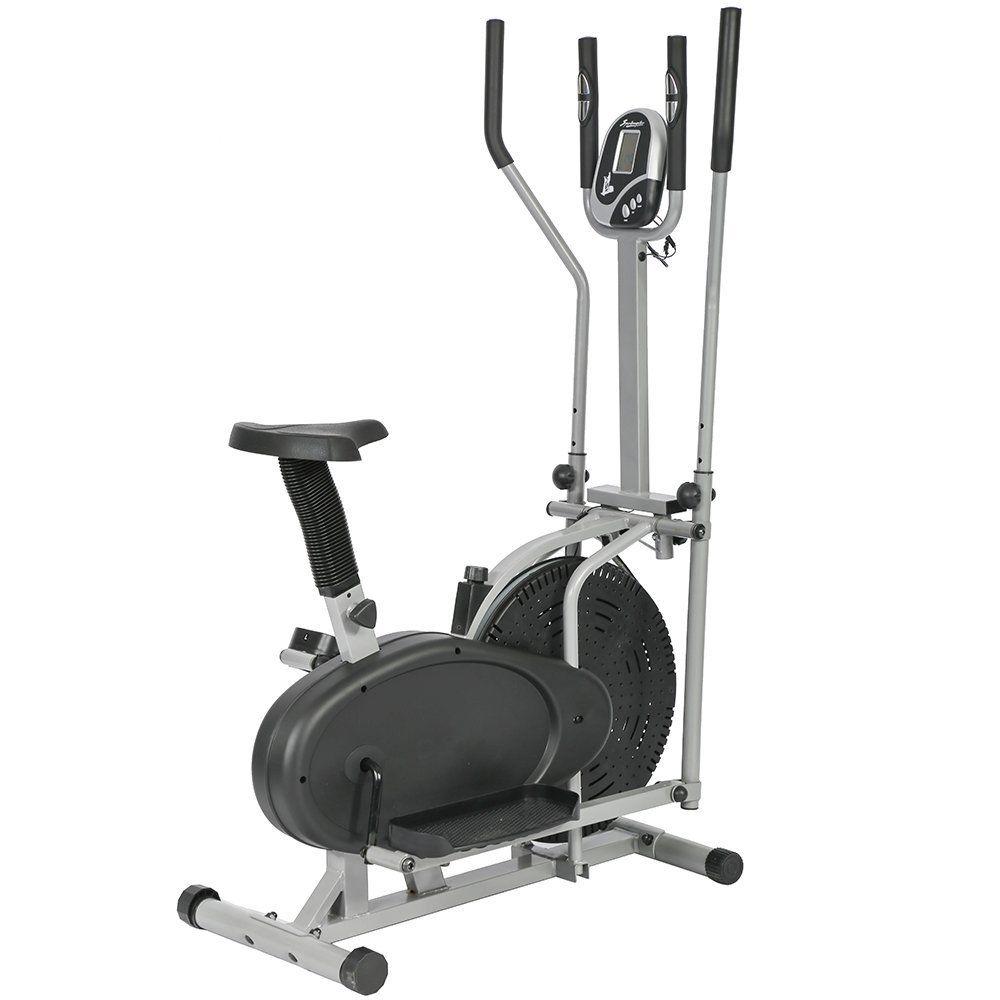 Bestmassage Elliptical Trainer Elliptical Machine Exercise Bike 2