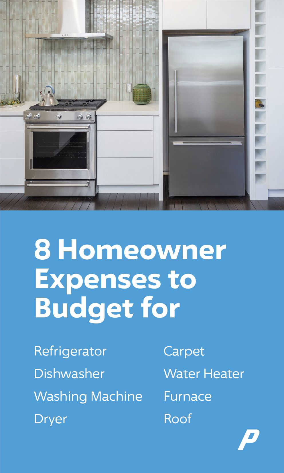 Homeowner expenses to budget for Kitchen remodel small