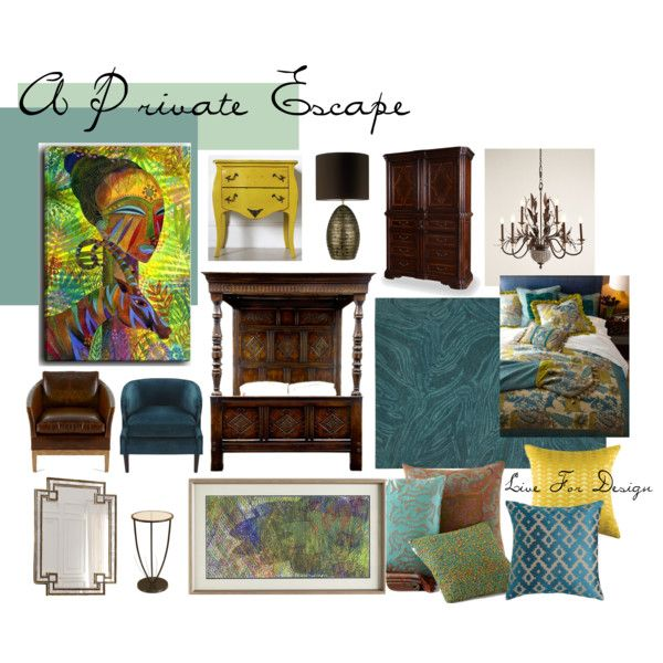 """""""A Private Escape"""" by livefordesign on Polyvore"""