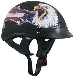 Daytona Helmets Eagle Helmet A1 Gloss Finish ~ Black ~ Size Medium