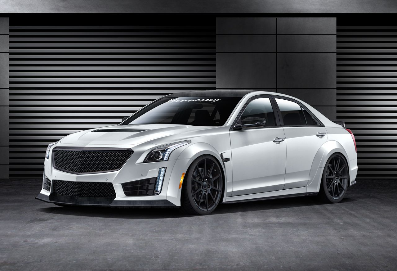 Hennessey performance engineering to produce 1000 hp 2016 cadillac cts v
