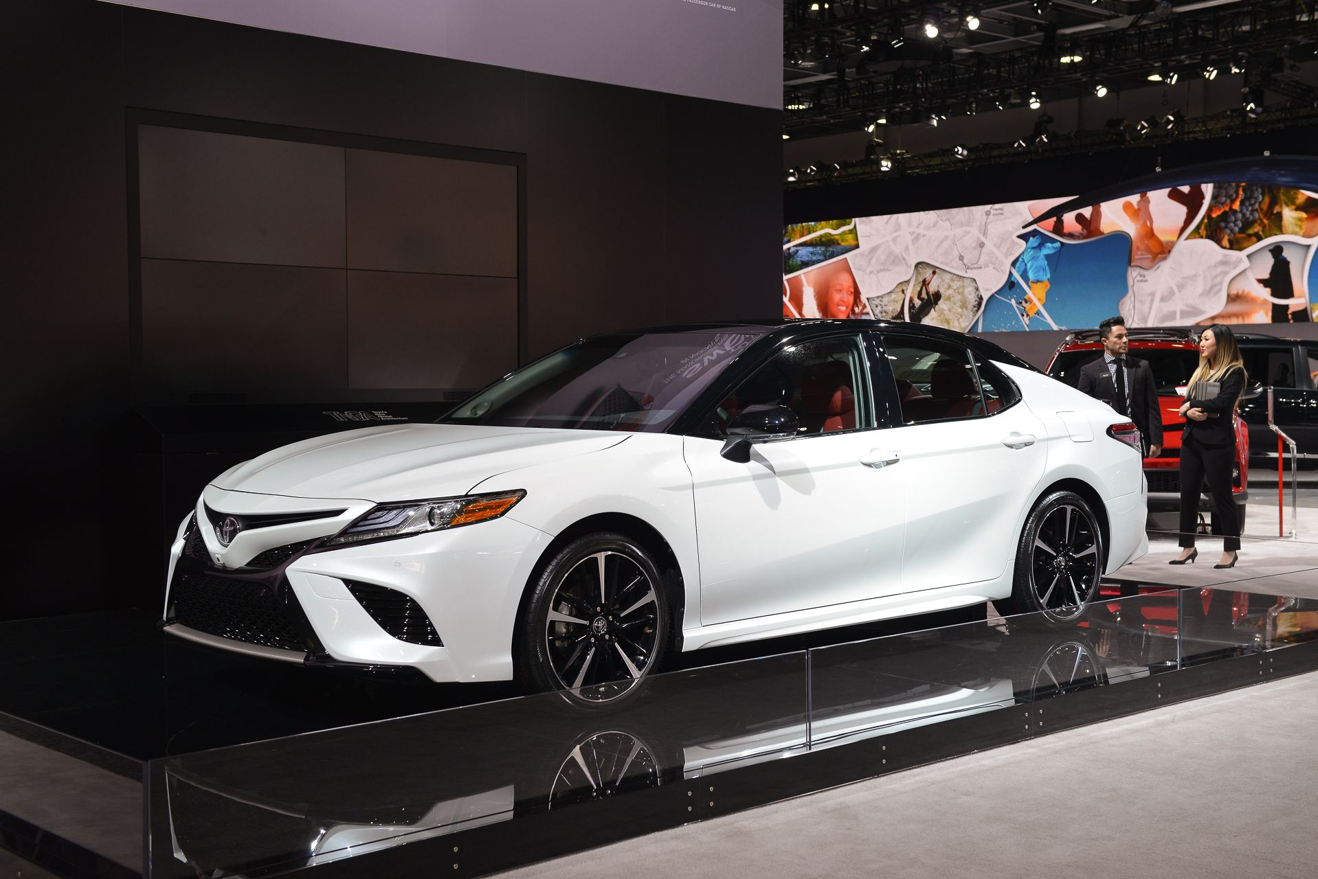 Have you checked out the new features on the new 2018 toyota camry the dual
