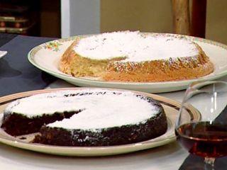 Torta de almendra y chocolate (Torta Caprese y Anacaprese)