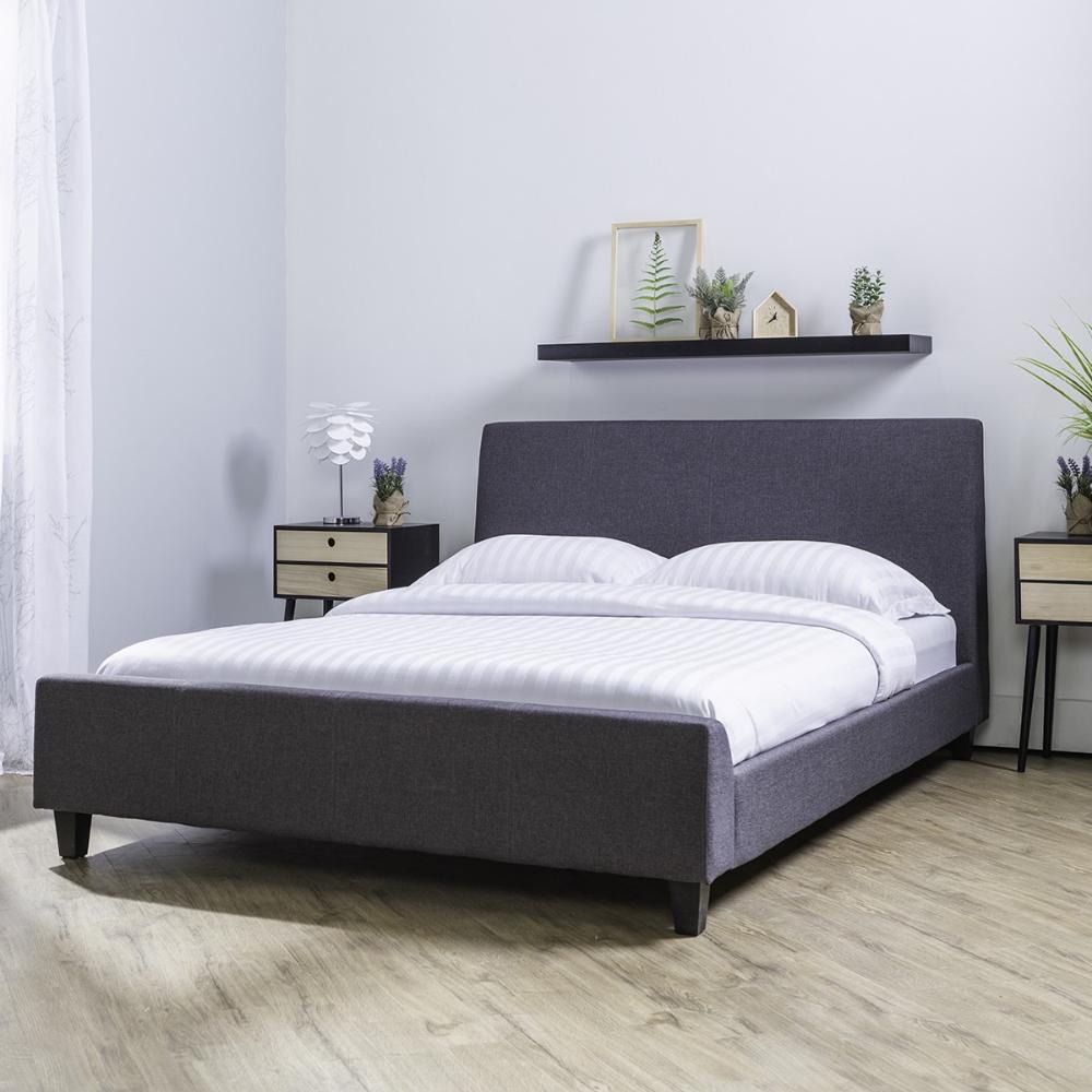 Dalen Bed Frame Double Base De Lit Cadre De Lit Et Lit