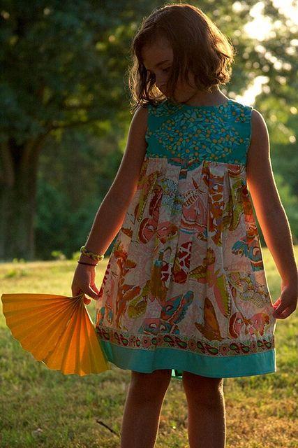 Paper.Fan.Dress.by.Anna.Maria.Horner | kids clothes | Pinterest ...