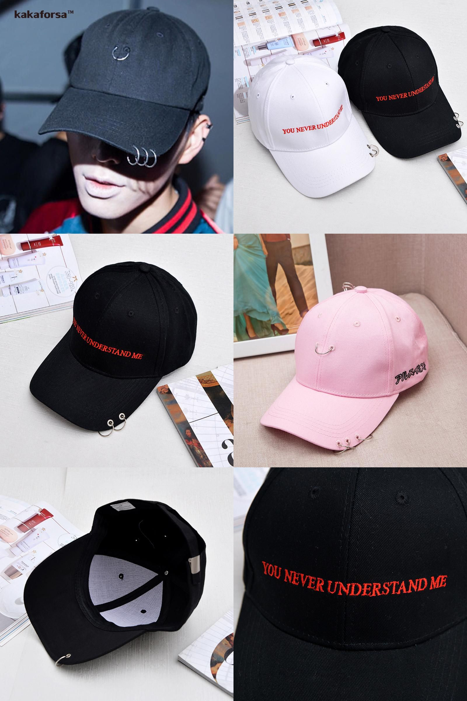 9f7b6c828d5  Visit to Buy  Fashion Men Cotton Baseball Caps Adjustable Solid Hip Hop  Snapback Caps