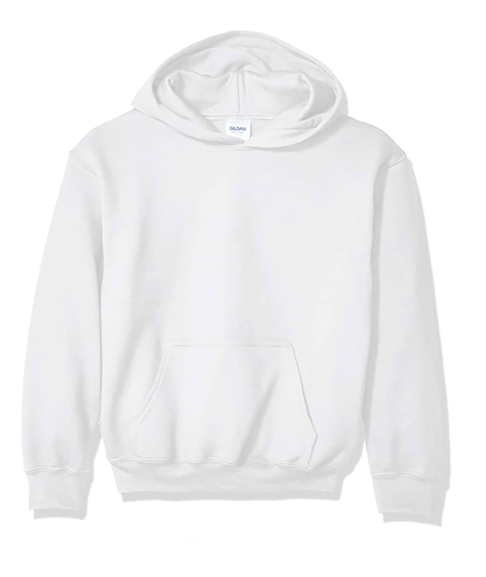 This super soft pullover hoodie from Gildan is great to wear everyday, lounge around the house in and at camp. A great item to tie-dye or even add a camp transfer to!