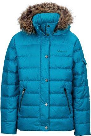 5ced747ae Marmot Girl s Hailey Jacket Storm Cloud S