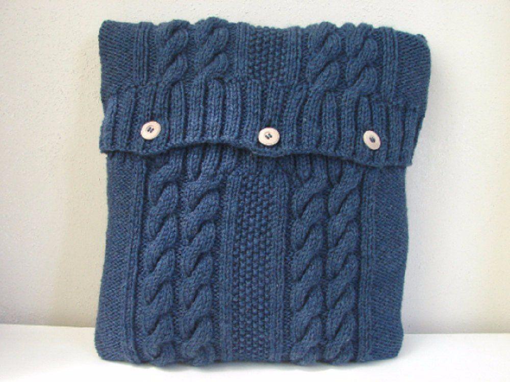 Knitting pattern cushion cover knit pattern pillow case 4 ...