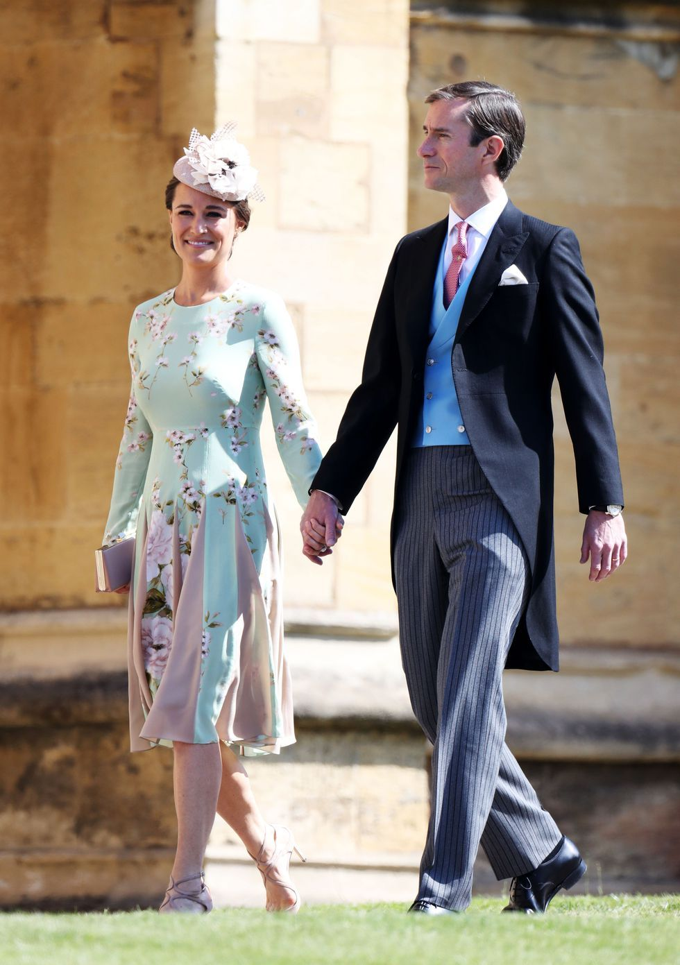 All The Best Dressed Guests From Prince Harry And Meghan Markle S Royal Wedding Royal Wedding Guests Outfits Prince Harry Wedding Pippa Middleton Dress [ 1391 x 980 Pixel ]