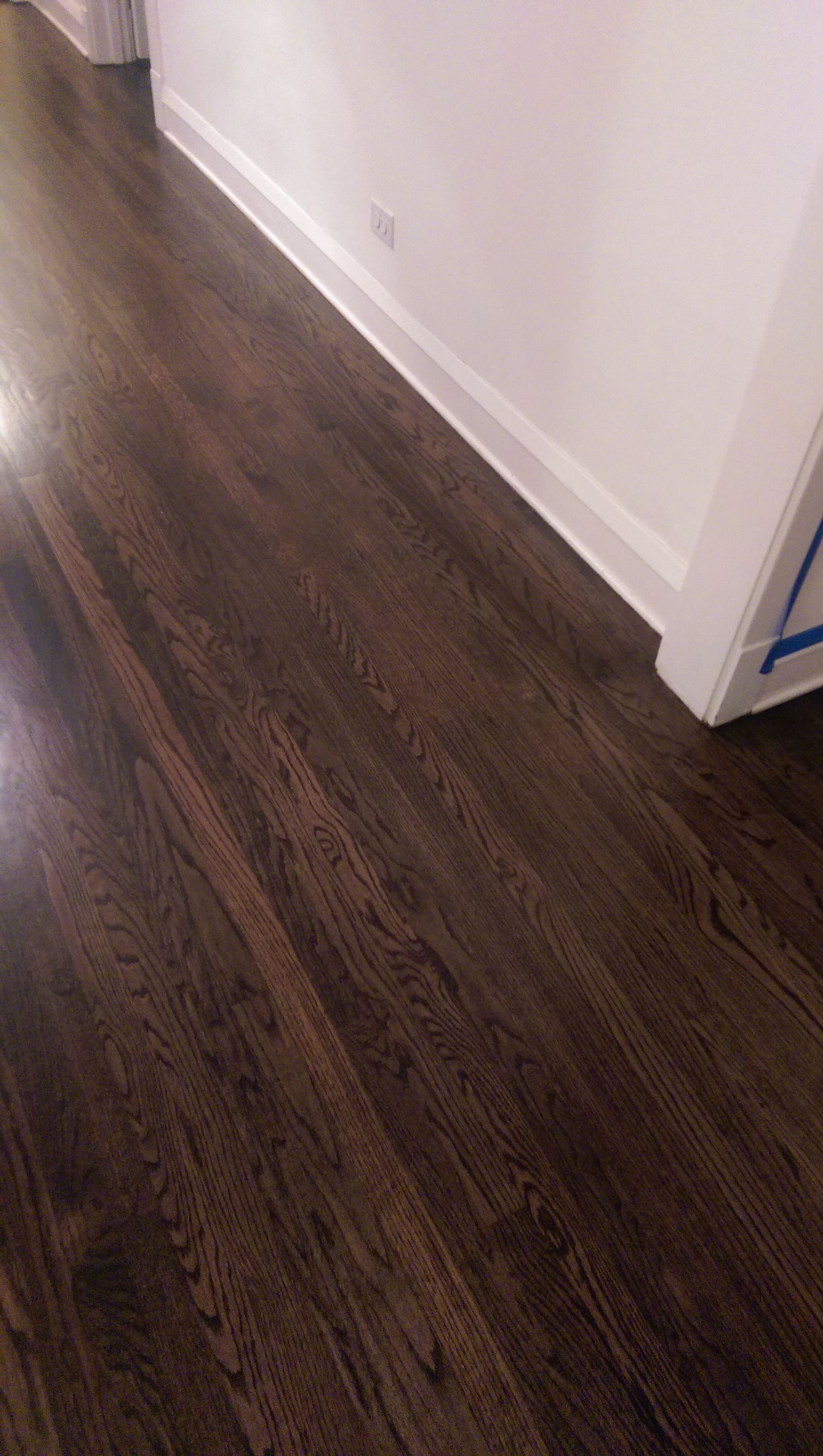 Floor Stain, Dark Walnut, Hardwood, Natural Wood, Hardwood Floor
