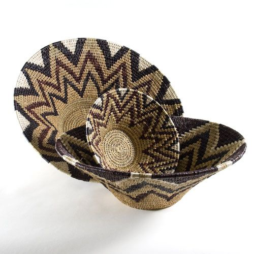 African Baskets: The African Grass Basket Is Hand Woven By Women In