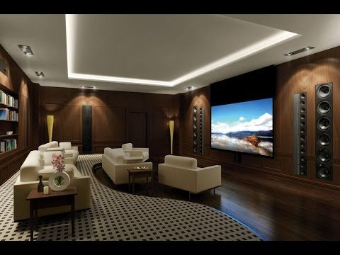 Best Home Theater Room Design Ideas  Youtube  Theatre Pleasing Living Room Home Theater Ideas Review