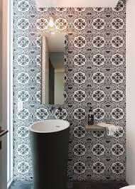 Resultado de imagen de papel pintado vinilico para baños