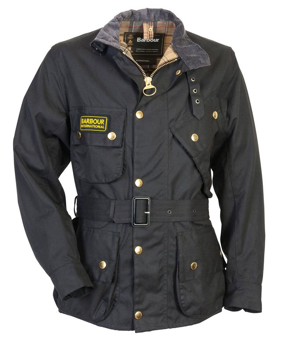 barbour international bike jacket