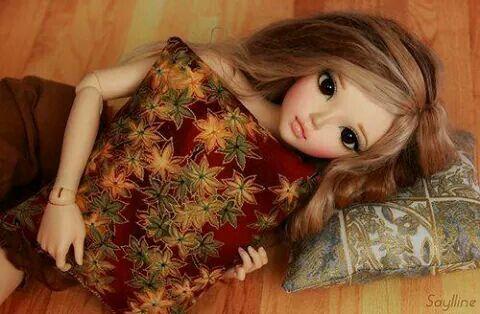 Cute doll..