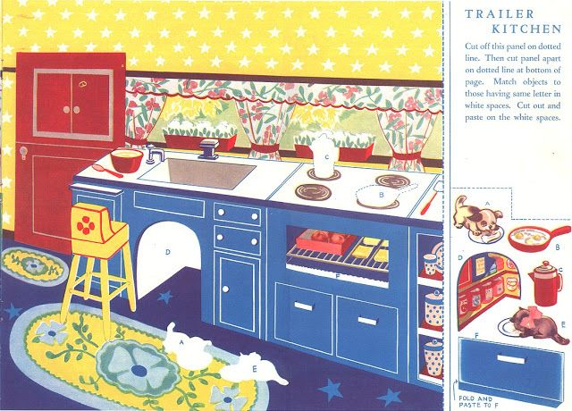 Paper Dolls~Paper Doll Family And Their Trailer - Bonnie Jones - Picasa Webalbums
