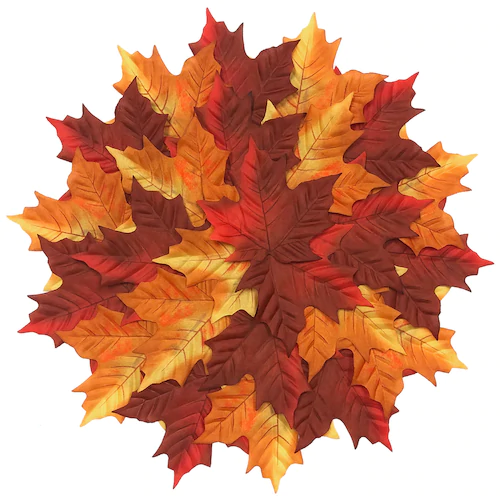 Celebrate Fall Together Pile Of Leaves Placemat Fall Leaf Wreaths Fall Paper Crafts Faux Leaf