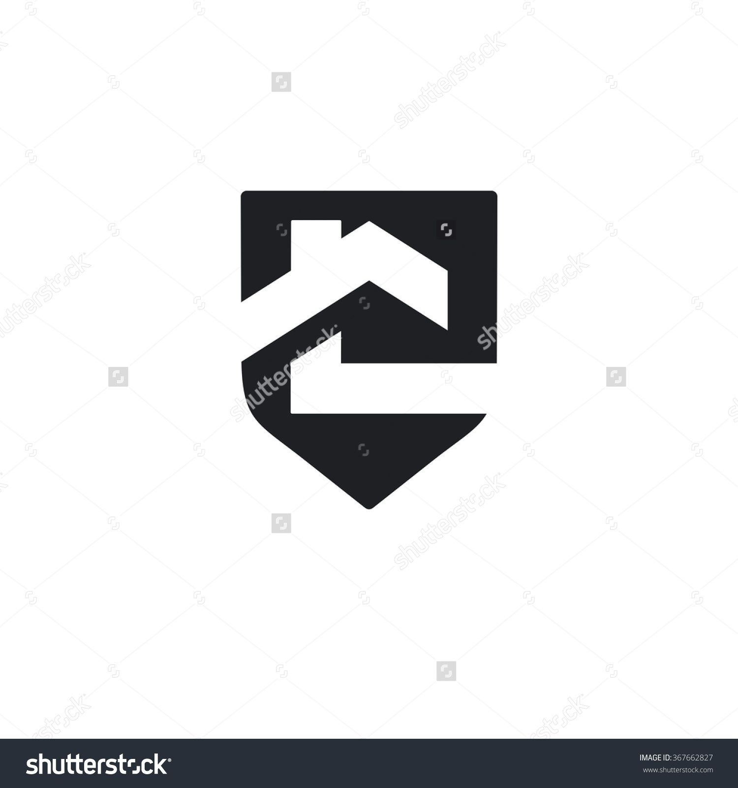 Vector of house icon shield business team for construction icon vector of house icon business team for construction icon business icon for the company abstract symbol of house village cottage buycottarizona Image collections