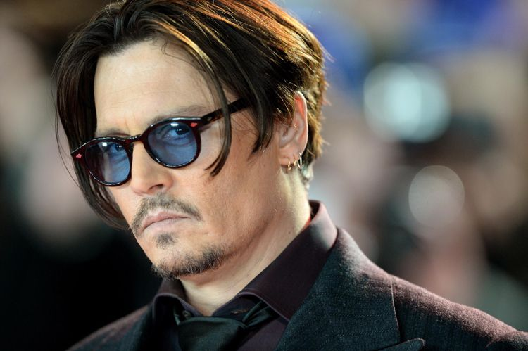 Johnny Depp Haare 2015 Brillen Langes Deckhaar 9 Mm Männerpflege