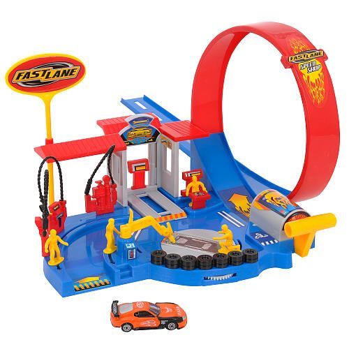 Toys Are Us Search : Fast lane speed shop playset toys r us quot