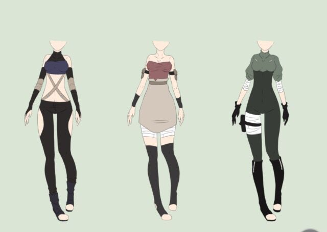 Adoptable Outfits Character Outfits Naruto Clothing Anime Dress