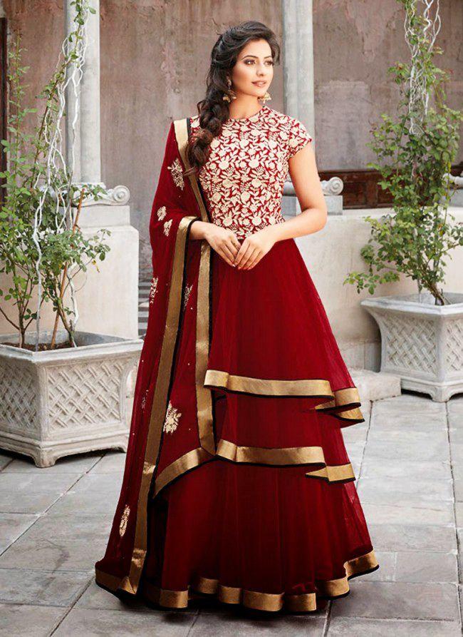 Latest fashion indian and pakistani frock designs 2016 for Dress dizain photo